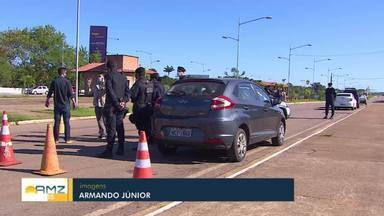 Operação todos por Rondônia leva polícias para ruas para garantir isolamento ampliado - Servidores que estavam home office serão convocados para reforçar barreiras policiais de abordagens de quem descumprir as orientações.