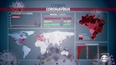 Brasil registrou 496 mortes neste domingo (10) - Geralmente acontece uma queda no registro de mortes aos finais de semana. Durante a semana existe uma compensação deste número de mortes.