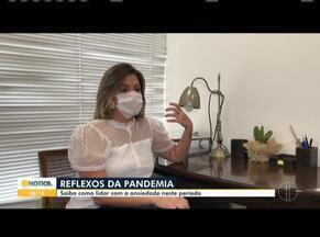 Aumento de pessoas com ansiedade é uma das consequências da pandemia - Saiba como lidar com a ansiedade nesse período.