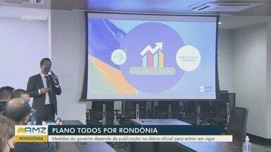 Governo de Rondônia elabora plano de enfrentamento do novo coronavírus - População insiste em sair do isolamento social.