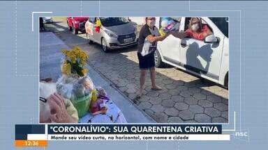 Coronalívio: telespectadores participam do JA - Coronalívio: telespectadores participam do JA