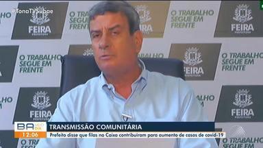 Prefeito de Feira de Santana comenta pandemia na cidade e funcionamento do comércio - O gestou deu entrevista pela internet ao BMD desta segunda-feira (11).