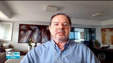 'Pessoas não ficam em casa', diz professor sobre causa da disseminação do coronavírus - Sérgio Rezende é coordenador de um grupo que assessora os governadores do Nordeste.
