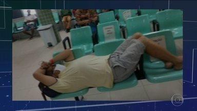 Hospitais públicos e privados do CE enfrentam dificuldade com aumento de casos de Covid-19 - A taxa de ocupação dos leitos de UTI para Covid-19 em Fortaleza é de 97%, somando a rede pública e particular. A capital do Ceará registrou a maior parte dos mais de 17.600 casos e mais de 1.100 mortes no estado.