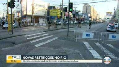 Rio tem medidas mais duras de isolamento a partir desta terça (12) - O município do Rio tem medidas mais duras para conter o avanço do novo coronavírus.