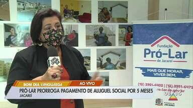 Pró-lar prorroga pagamento de aluguel por 5 meses em Jacareí - Medida é para auxiliar famílias durante pandemia.