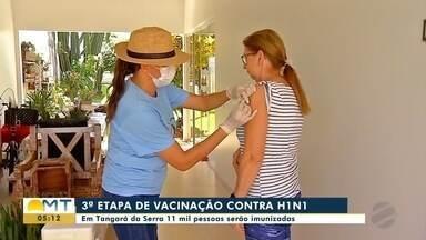 3ª etapa de vacinação contra a gripe - 3ª etapa de vacinação contra a gripe