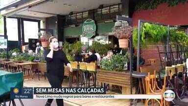 Nova Lima muda regras para bares e restaurantes - Medida foi tomada depois que aglomerações foram registradas no fim de semana.