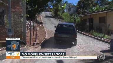 MG Móvel entrega obra em Sete Lagoas - Moradores pediram melhorias para a travessa e a avenida Amaral Gurgel. Prefeitura atendeu e as ruas foram pavimentadas. Obra é a segunda entregue na cidade.