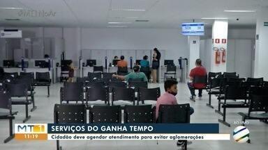 Órgãos públicos retomam serviços no Ganha Tempo - Órgãos públicos retomam serviços no Ganha Tempo.
