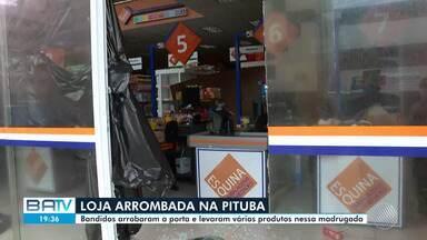 Destaques do dia: bandidos arrobam porta de loja e levam vários produtos, na Pituba - Confira este e outros destaques desta terça-feira (12).