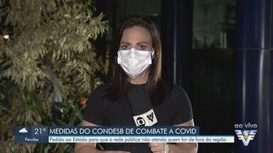 Condesb fará pedido para Baixada Santista não receber pacientes de outras regiões - Conselho vai elaborar pedido ao estado para que rede pública não atenda quem for de fora da Baixada Santista.