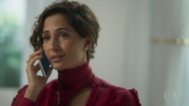 Olga garante a Miguel que reserva será extinta - Natalie descobre que o empresário perdeu uma filha