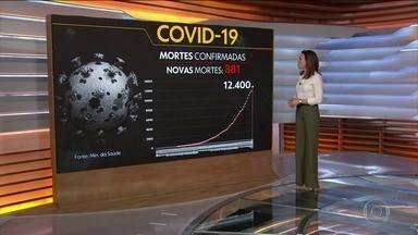 Coronavírus: Brasil passa Alemanha e se torna o 7º país com mais casos da Covid-19 - Apesar da baixa quantidade de testes aplicados, Brasil é o 7º país no mundo com o maior número de casos do novo coronavírus: 117 mil. O total de mortos pela Covid-19 chega a 12,4 mil.