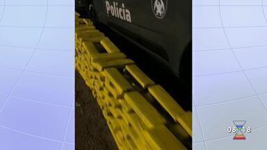 Polícia apreende quase meia tonelada de maconha em São José - Cinco pessoas foram presas.