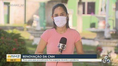 Prazo para renovação da CNH fica suspenso durante a pandemia do novo coronavírus - Prazo para renovação da CNH fica suspenso durante a pandemia do novo coronavírus