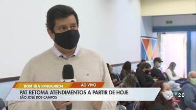 PAT de São José retoma atendimento ao público com acesso controlado - Veja como vai funcionar atendimento.