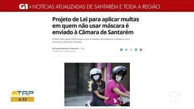 Confira mais destaque do G1 Santarém e Região - Acesse o portal pelo tablet, celular ou computador.