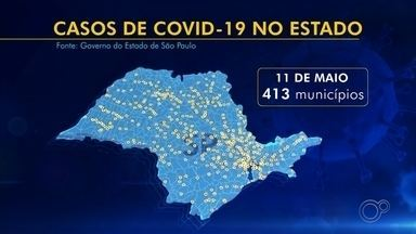 Isolamento social continua insuficiente no estado de São Paulo - O isolamento social ainda está insuficiente em todo o estado de São Paulo. A taxa de ocupação de leitos em todo o estado está em 69%.