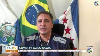 Prefeito de Sapucaia fala sobre medidas adotadas no combate ao coronavírus - Fabrício Baião conversa ao vivo sobre situação atual e número de casos e mortes confirmados na cidade.