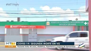 Duas mortes confirmadas pela Covid-19 em Várzea Grande - Duas mortes confirmadas pela Covid-19 em Várzea Grande.
