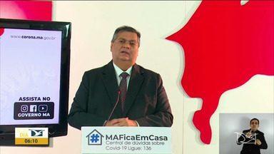 Flávio Dino fala da criação do centro de acolhimento para pacientes com a Covid-19 - Governador do Maranhão destacou em coletiva em Imperatriz que o número de casos de infectados pelo vírus deve ser bem maior do que os que constam nos boletins.