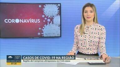 Região de São Carlos registra 36 mortes provocadas pela Covid-19 - Número de diagnósticos positivos na cidade é de 582.