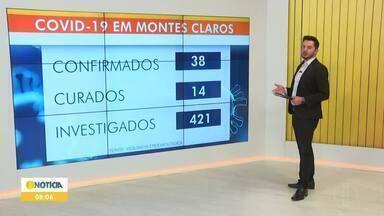 Covid-19: Veja como está a situação em Montes Claros - São 38 casos confirmados da doença, sendo 14 pessoas já curadas.