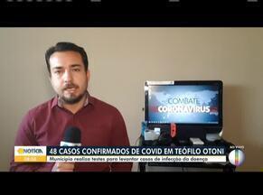Covid-19: Em Teófilo Otoni já são 48 casos até nesta sexta-feira (15) - O município iniciou também os testes na cidade.