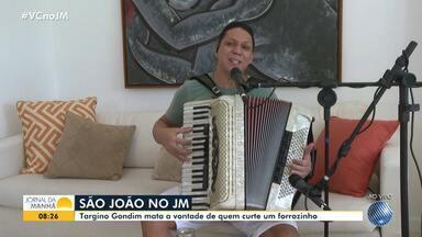 Sextou! Targino Gondim proporciona clima de São João no JM - O artista fala sobre a suspensão dos festejos juninos, por causa da pandemia!