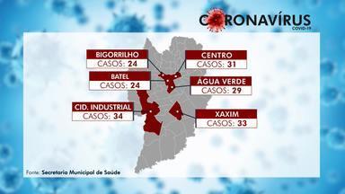Secretaria Municipal da Saúde mostra as regiões mais afetadas pela Covid-19 - O levantamento foi feito até o dia 3 de maio