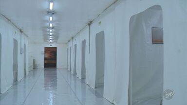 Hospital de Campanha de Campinas começa a funcionar nesta sexta-feira - Profissionais passaram por treinamento e pacientes serão transferidos durante a tarde.