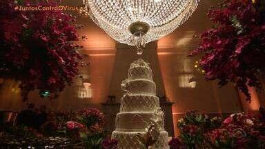 Com a pandemia de coronavírus, celebrações de casamentos são adiadas ou adaptadas - Cerimonialistas estimam prejuízo de R$ 8 bilhões com os eventos adiados.