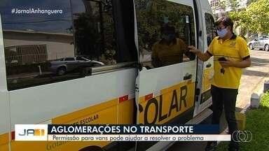 Aprovado em primeira votação o uso de vans escolares no transporte coletivo, em Goiânia - Medida busca diminuir lotação nos ônibus do transporte público.