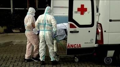 Ceará registra esta semana o maior número de mortes desde o início da pandemia - De sábado passado (9) para cá, foram quase 600 mortes. Uma a cada 20 minutos.