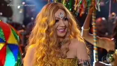 Solange Almeida homenageia Elba Ramalho no Show dos Famosos - Relembre o quadro de sucesso
