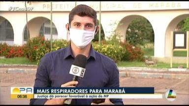 Justiça dá parecer favorável à ação do MP que prevê a aquisição de novos respiradores - Os equipamentos devem garantir o aumento da capacidade de três hospitais do município.