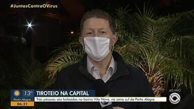 Dois homens são baleados em troca de tiros com a Brigada Militar em Gravataí - Polícia perseguiu os suspeitos até Cachoeirinha.