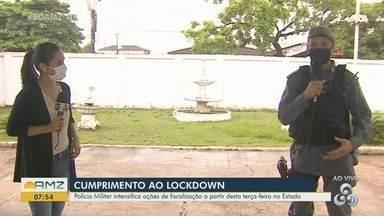 Polícia Militar detalha como funcionarão as ações de fiscalização do 'lockdown' em Macapá - Polícia Militar detalha como funcionarão as ações de fiscalização do 'lockdown' em Macapá