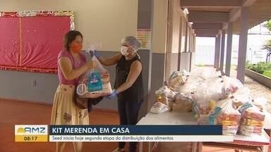 Coronavírus: Seed inicia a segunda etapa de distribuição dos Kits 'Merenda em Casa' no AP - Coronavírus: Seed inicia a segunda etapa de distribuição dos Kits 'Merenda em Casa' no Amapá