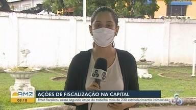 Coronavírus: prefeitura fiscalizou mais de 230 estabelecimentos comerciais em Macapá - Coronavírus: prefeitura fiscalizou mais de 230 estabelecimentos comerciais em Macapá