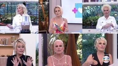 Confira as mudanças de cabelo da Ana Maria ao longo dos anos - Confira!