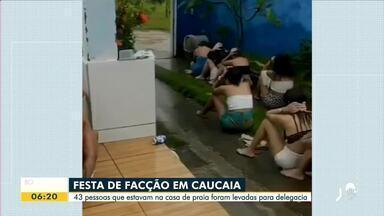Festas com aglomeração desrespeitam o isolamento social rígido - Saiba mais em g1.com.br/ce