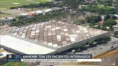 Hospital de campanha do Anhembi registra mais uma morte por coronavírus - A Secretaria Municipal de Saúde de São Paulo confirmou mais uma morte no hospital de campanha do Anhembi. Vinte pessoas morreram no hospital, desde a inauguração no dia 11 de abril. No Pacaembu foi registrada uma morte até domingo (18).
