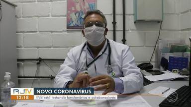 INB inicia testagem rápida para Covid-19 em funcionários e colaboradores - Indústria tem uma unidade no distrito de Engenheiro Passos, em Resende.