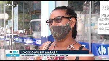 Decreto de 'lockdown' em Marabá provoca protestos - Decreto de 'lockdown' em Marabá provoca protestos