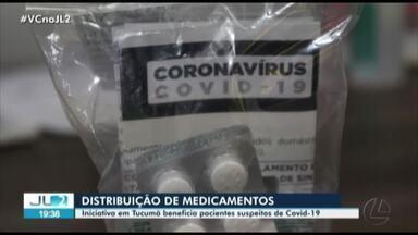 Em Tucumã, medicamentos são distribuídos a pacientes com sintomas de Covid-19 - Em Tucumã, medicamentos são distribuídos a pacientes com sintomas de Covid-19