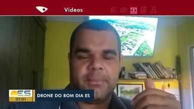Drone do Bom Dia ES sobrevoa Vila Velha, ES - Veja as imagens.