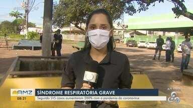 SVS diz que casos de Síndrome Respiratória Grave aumentam 280% no Amapá - SVS diz que casos de Síndrome Respiratória Grave aumentam 280% no Amapá