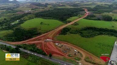 Drone do Bom Dia ES sobrevoa a BR-101, na Serra, ES - Veja as imagens.
